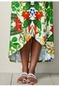 Alternate view Embellished Print Skirt