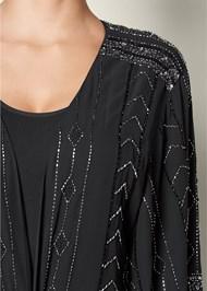 Alternate View Embellished Fringe Jacket