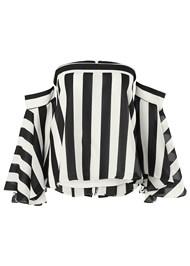 Alternate view Stripe Bell Sleeve Top