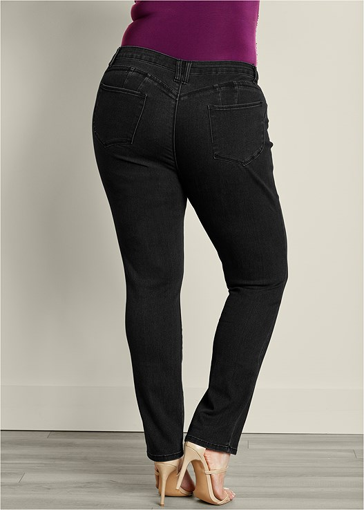 BUM LIFTER JEANS,LONG AND LEAN TEE