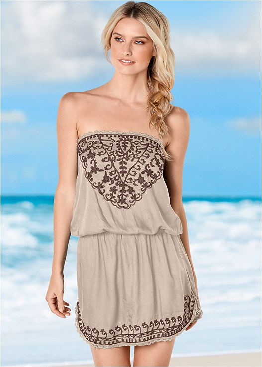 EFFORTLESS COVER-UP DRESS