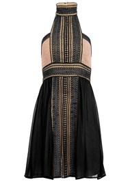 Alternate view High Neck Lace Detail Dress