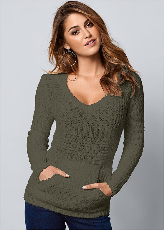 COZY TEXTURED SWEATER