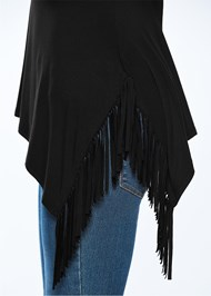 Alternate view Fringe Detail Tunic Top