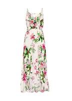 plus size lace up floral dress