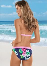 Back View Fold Waist Bikini Bottom