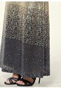 Alternate view Sequin Ombre Long Skirt