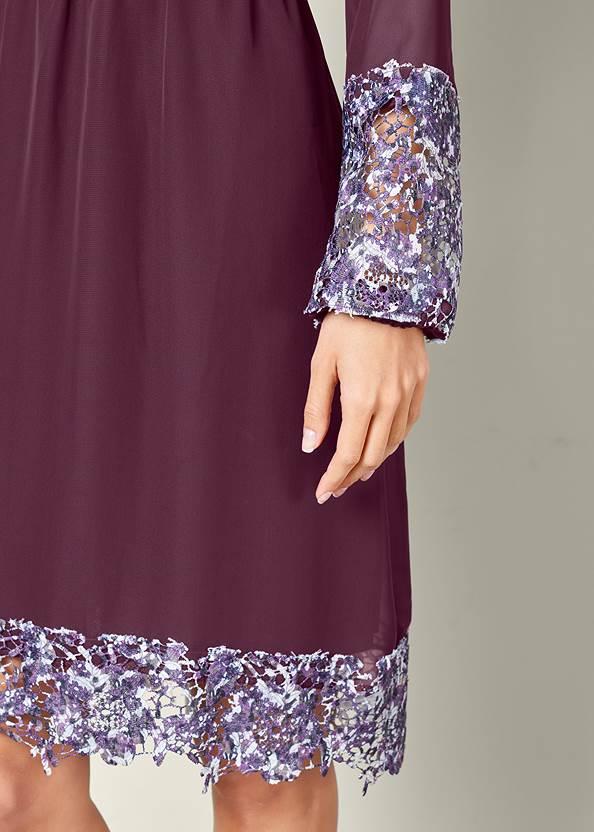 Alternate View Laser Cut Detail Dress