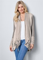 cozy long cardigan