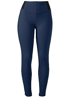 stretch jean leggings