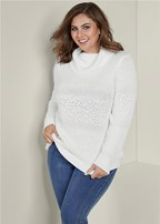 plus size cozy sweater