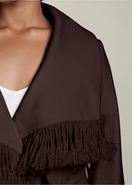 ALTERNATE VIEW Fringe Detail Outerwear