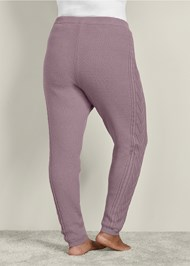 Back View Lined Sweater Lounge Pants