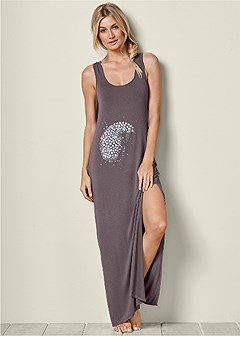 maxi sleep dress