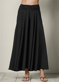FRONT VIEW Wide Leg Pants