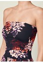 Alternate view Strapless Floral Maxi Dress