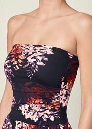 Alternate view Strapless Floral Maxi Dress
