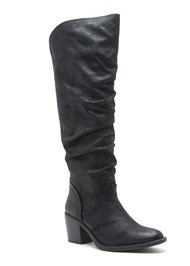 Alternate View Slouchy Mid Calf Boots