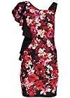 Alternate view One Shoulder Floral Dress