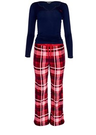 Alternate View Plush Pajama 3 Piece Set