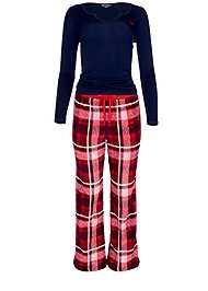 Alternate View Plush Pajama 3 Piece Set