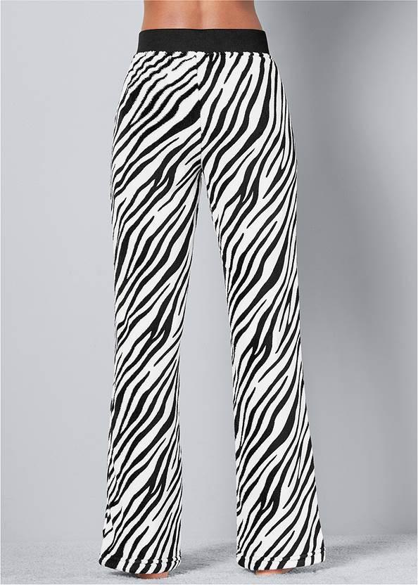 Back view Wooby Plush Pants