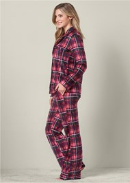 Alternate view Cozy Button Down Pajama Set
