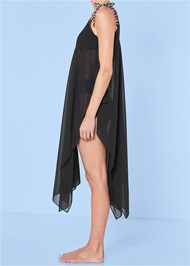 Alternate view Braided Tie Strap Cover-Up Dress