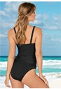Back view Slenderizing Tankini Top