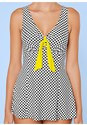 Alternate view Tie Front Swim Dress