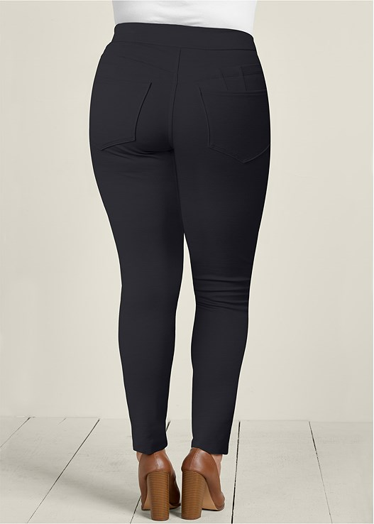 170860ed528 Plus Size SLIMMING BUM LIFTER PANTS in Black