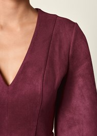 ALTERNATE VIEW Faux Suede Dress