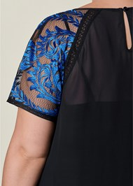 Alternate view Short Sleeve Lace Blouse