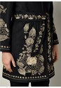 Alternate view Belted Embroidered Coat