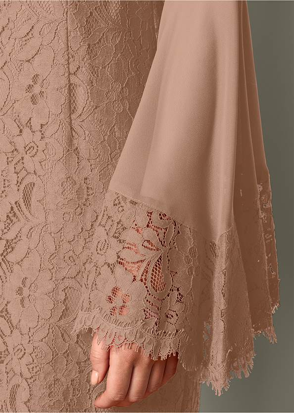 Alternate view Sleeve Detail Lace Dress