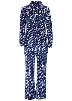 cozy button down pajama set