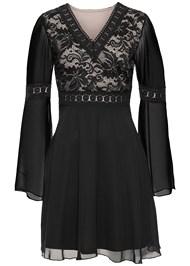 ALTERNATE VIEW Chiffon Party Dress