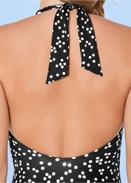 Alternate view Wrap Front Halter One-Piece
