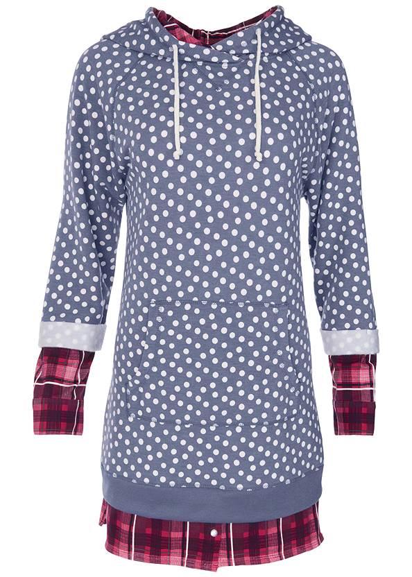ALTERNATE VIEW Mixed Print Sleep Dress