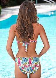 Back view Low Rise Classic Bikini Bottom