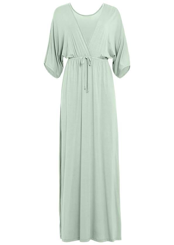 Alternate View Kimono Sleeve Sleep Dress