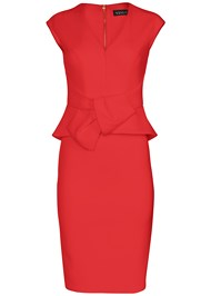 Front view Bow Detail Bodycon Dress