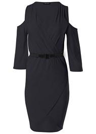 Alternate view Cold Shoulder Belted Dress