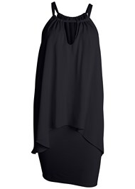 Alternate View Keyhole Mini Dress
