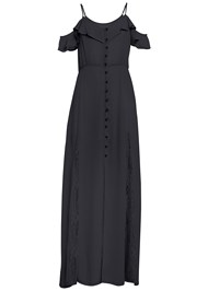 Alternate View Cold Shoulder Maxi Dress