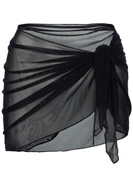 Alternate view Mesh Wrap Skirt
