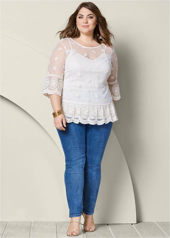 Front view Lace Top