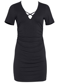 Alternate View V-Neck T-Shirt Dress