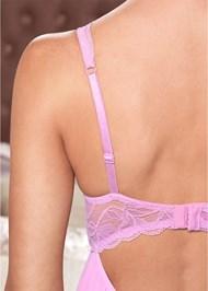 Alternate View Lace Shoulder Babydoll