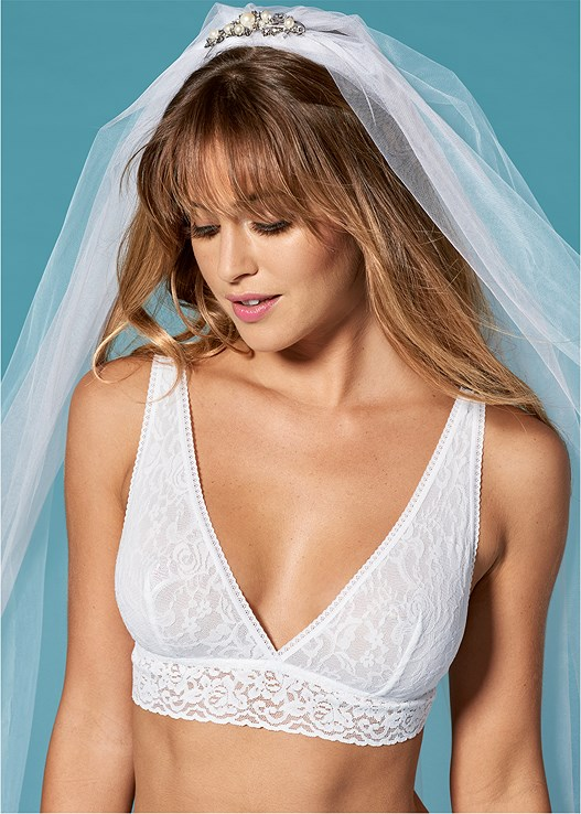 BRIDAL TRIANGLE BRALETTE